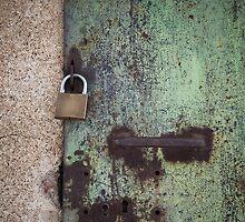 rusty door by Maria Heyens