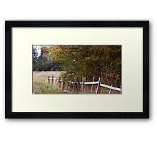 Autumn in Lincoln II Framed Print