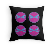 Lacewing Day Throw Pillow
