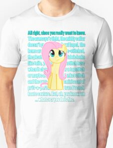 Fluttershy Critique T-Shirt