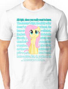Fluttershy Critique Unisex T-Shirt