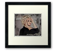 ~ Woman, Thou Worthless Fluff, Creature Of Air! ~ Framed Print