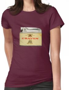 Retro Australian cigarette lighter Womens Fitted T-Shirt