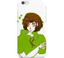 Jade green iPhone Case/Skin