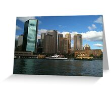 Sydney , a beautiful experience Greeting Card