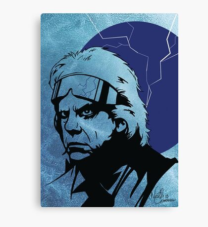 'The Doc' from Back To The Future Canvas Print