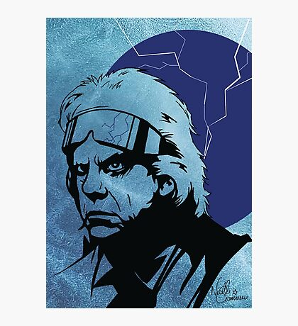'The Doc' from Back To The Future Photographic Print