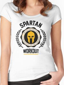 Spartan Workout Women's Fitted Scoop T-Shirt