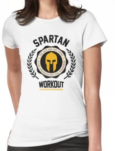 Spartan Workout Womens Fitted T-Shirt