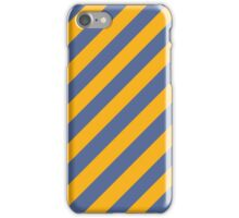 UCLA stripes iPhone Case/Skin