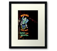 Royal Taste Bar Framed Print