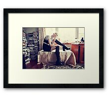 Domesticated Cosplayer Framed Print