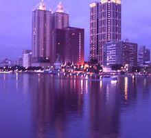 Riverside Modern Buildings by yiching