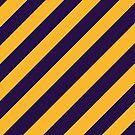 Los Angeles Lakers stripes by Nikola Kantar