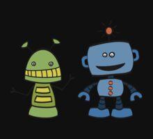 robot friends Kids Clothes