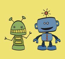 robot friends Kids Tee