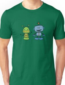 robot friends Unisex T-Shirt