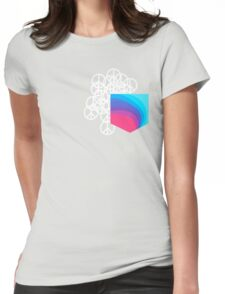 Peace Pocket Womens Fitted T-Shirt