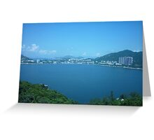 Calm Bay by the Ocean Greeting Card
