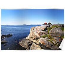 Views beyond Hammerfest, Norway Poster