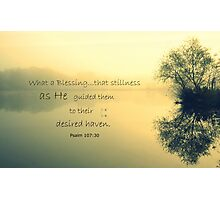Their Desired Haven Photographic Print