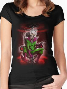 Prof. Mad Brainer Solo Women's Fitted Scoop T-Shirt