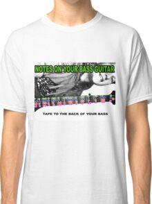 BASS NOTES Classic T-Shirt