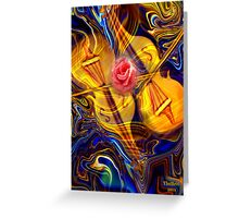 The Gift of Music and Love Greeting Card