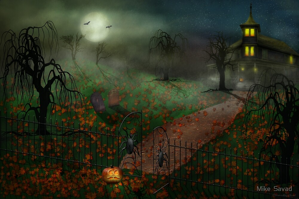Halloween - One Hallows Eve by Mike  Savad