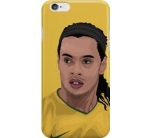 Ronaldinho iPhone Case/Skin