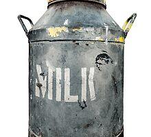 Rustic Milk Churn by mrdoomits
