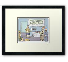 Munchies Framed Print