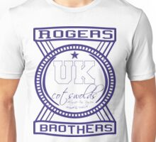 uk cotswolds logo by rogers bros tshirts Unisex T-Shirt