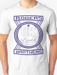 uk cotswolds logo by rogers bros tshirts T-Shirt