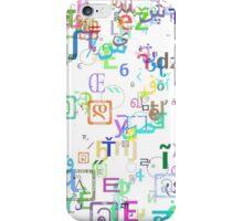 Random Type case 1 iPhone Case/Skin