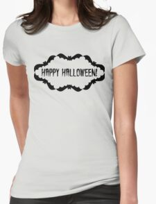 Happy Holloween Womens Fitted T-Shirt