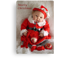 Merry Christmas 2011 Canvas Print