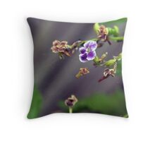 The Last Bloom Throw Pillow
