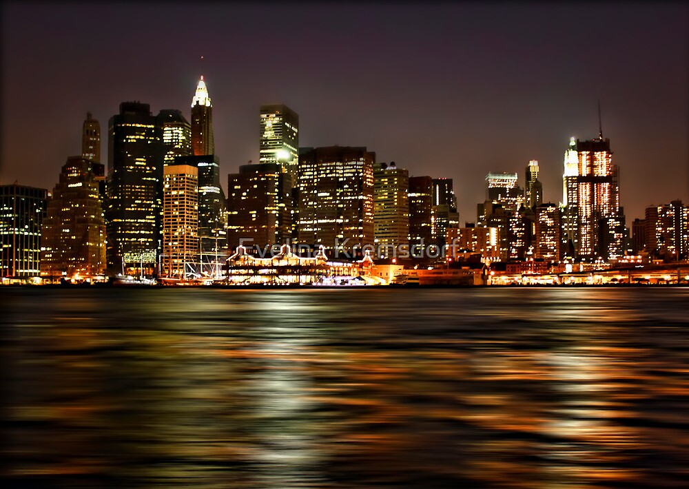 The City That Never Sleeps by Evelina Kremsdorf