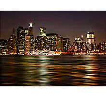 The City That Never Sleeps Photographic Print