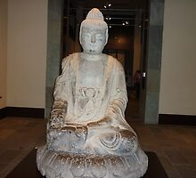 A Peaceful Serene Buddah by Joseph Green