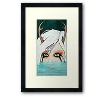 Hello Little Deer Framed Print