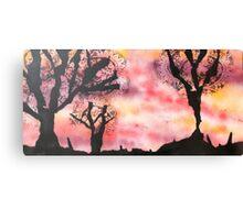Katherine Dine - Silhouette Canvas Print
