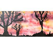 Katherine Dine - Silhouette Photographic Print