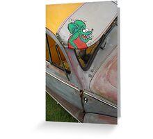 Rat Fink VeeDub Beetle Greeting Card