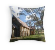 Church at Bookham Throw Pillow