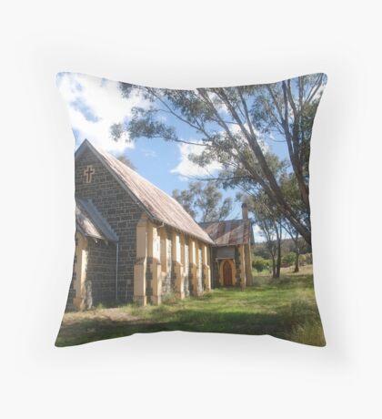 Church at Bookham Throw Pillow