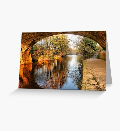 Under the Aquaduct. Greeting Card