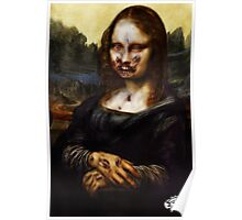 Moan A Lisa De Zombie (Print) Poster