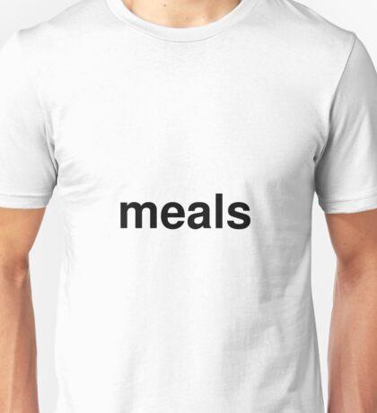 meals Unisex T-Shirt